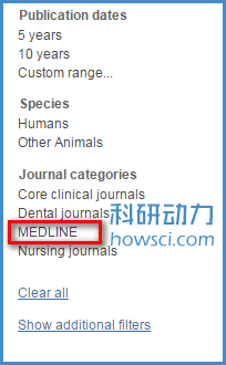 PubMed 的检查结果不代表期刊的质量