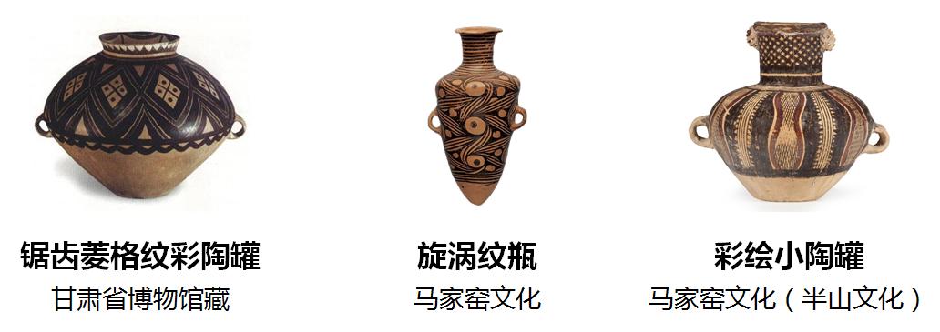 新石器时代的陶罐