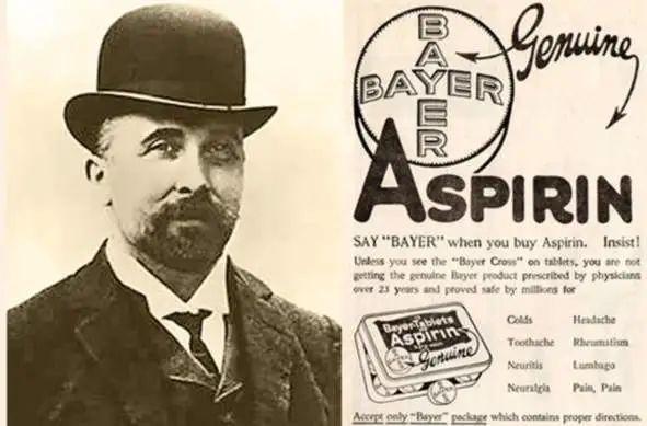阿司匹林与其发明者费利克斯·霍夫曼