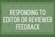 3 top tips for responding to reviewer comments on your manuscript